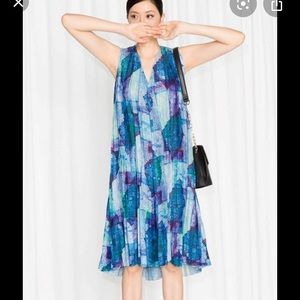 & Other Stories pleat dress